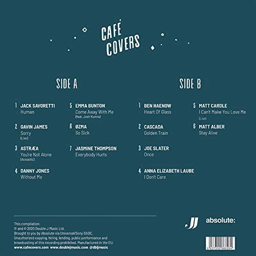 VARIOUS ARTISTS - CAFE COVERS - VINYL