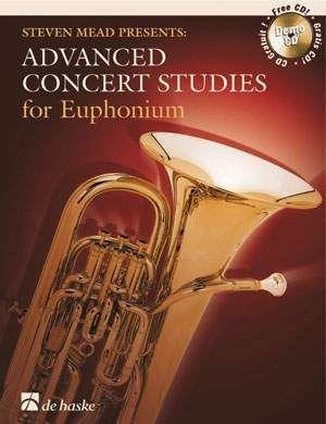 Advanced Concert Studies for Euphonium BC Euphonium (BC) and CD