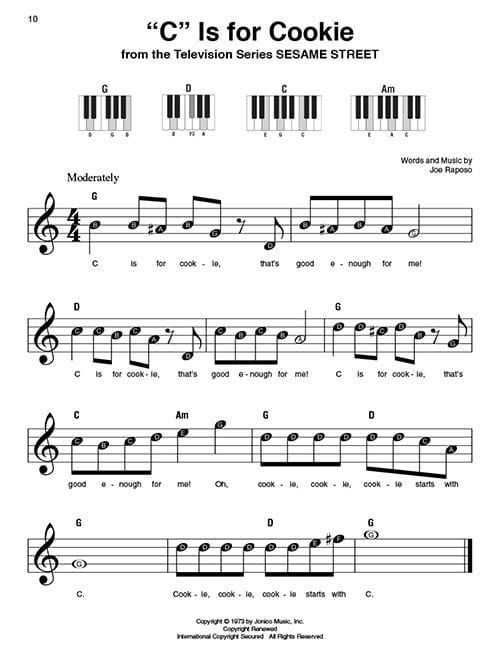 KIDS SONGS SUPER EASY SONGBOOK (Piano)