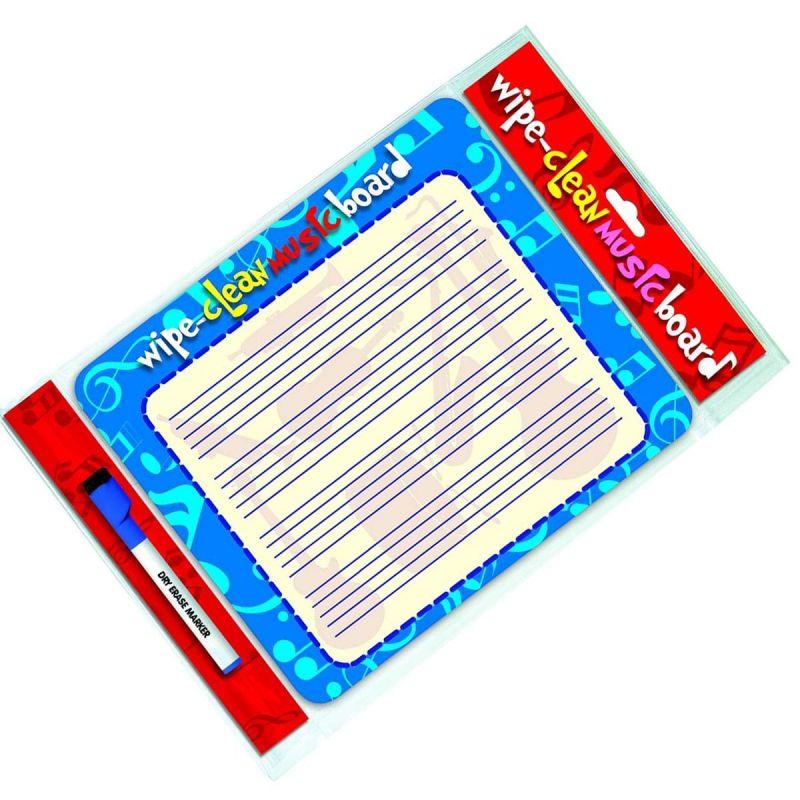 Wipe Clean Music Board (Landscape Edition)