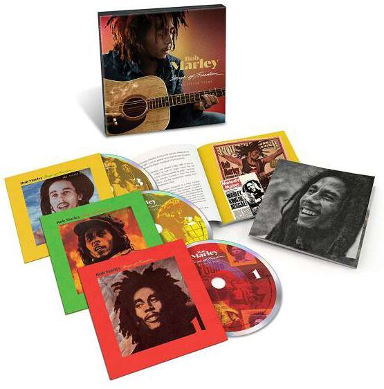 BOB MARLEY - SONGS OF FREEDOM - THE ISLAND YEARS - CD BOX SET