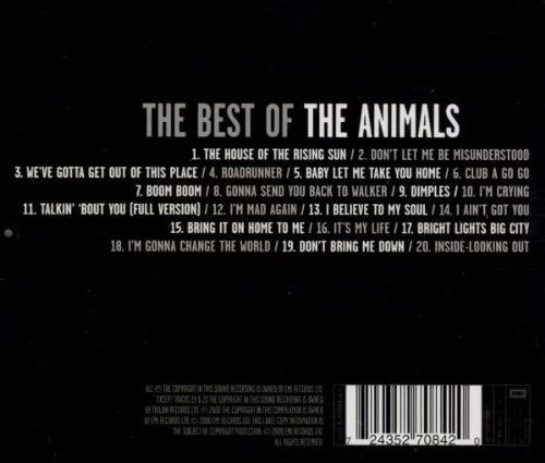 ANIMALS - THE BEST OF - CD