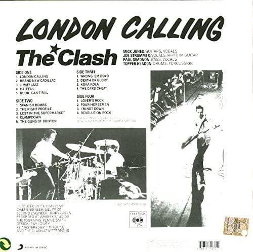 CLASH - LONDON CALLING - 2 LP VINYL