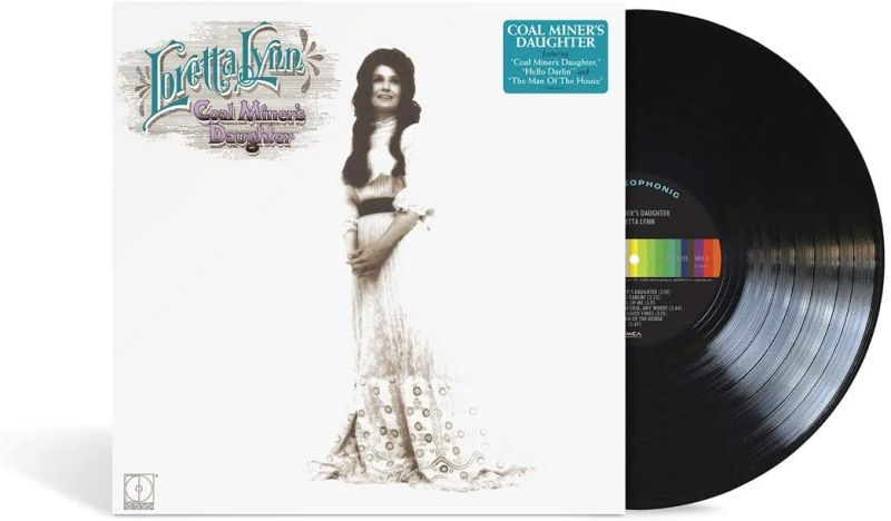 LORETTA LYNN - COAL MINER'S DAUGHTER - VINYL