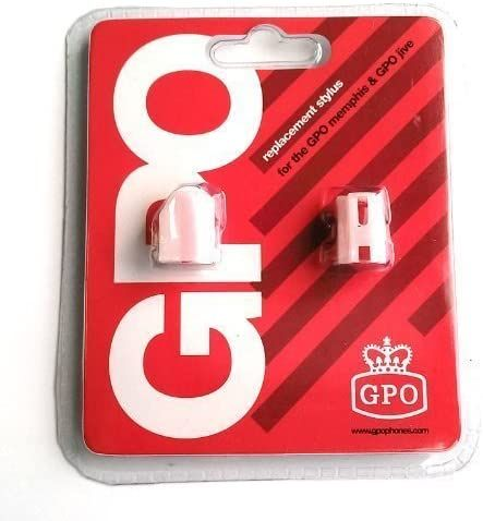 GPO Stylus Needle Blister Pack Memphis /Jive (2 Units) Needle