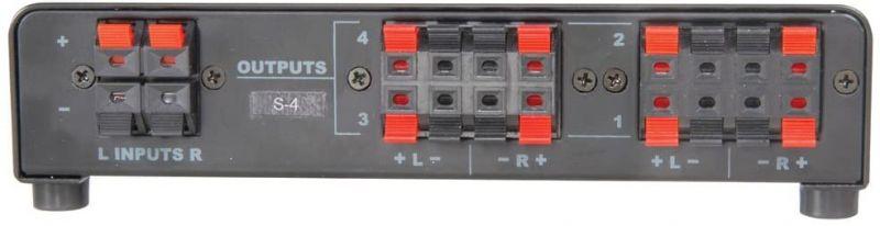 AV Link 4 Way Loudspeaker Selector
