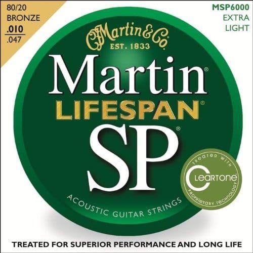 Martin Lifespan Extra Light Phosphor Bronze Set