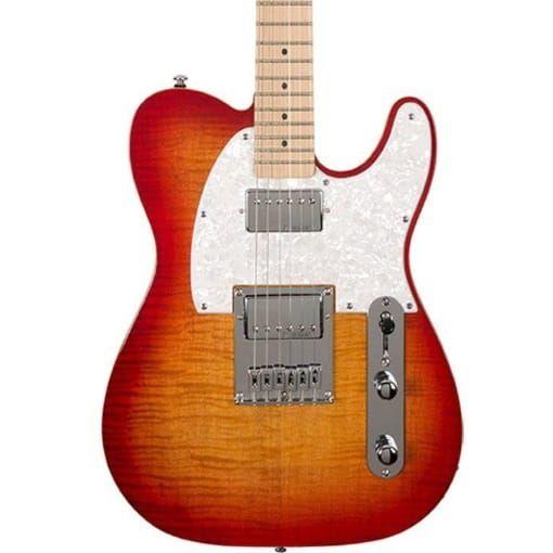 Michael Kelly 53DB Electric Guitar - Cherry Sunburst