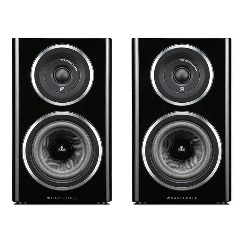 Wharfedale Diamond 11.1 Bookshelf Speakers (pair), Black Wood