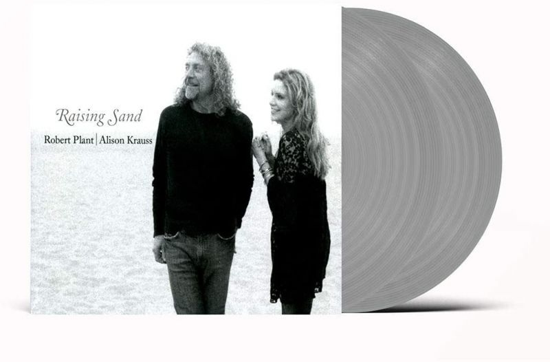 ROBERT PLANT & ALISON KRAUSS - RAISING SAND - LIMITED EDITION 2LP GREY VINYL