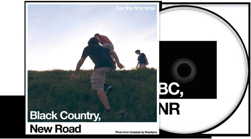 BLACK COUNTRY NEW ROAD - FOR THE FIRST TIME - CD