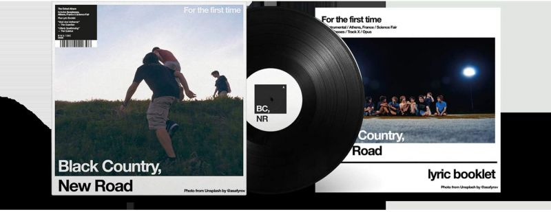 BLACK COUNTRY NEW ROAD - FOR THE FIRST TIME - VINYL