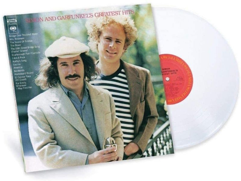 SIMON & GARFUNKEL - GREATEST HITS - WHITE VINYL