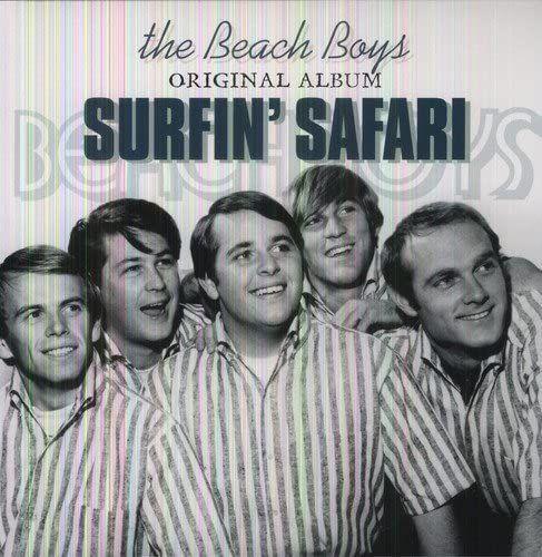 BEACH BOYS - SURFIN' SAFARI - vinyl