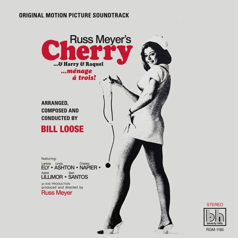 BILL LOOSE - CHERRY AND HARRY AND RAQUEL OST - CHERRY COLOUR VINYL