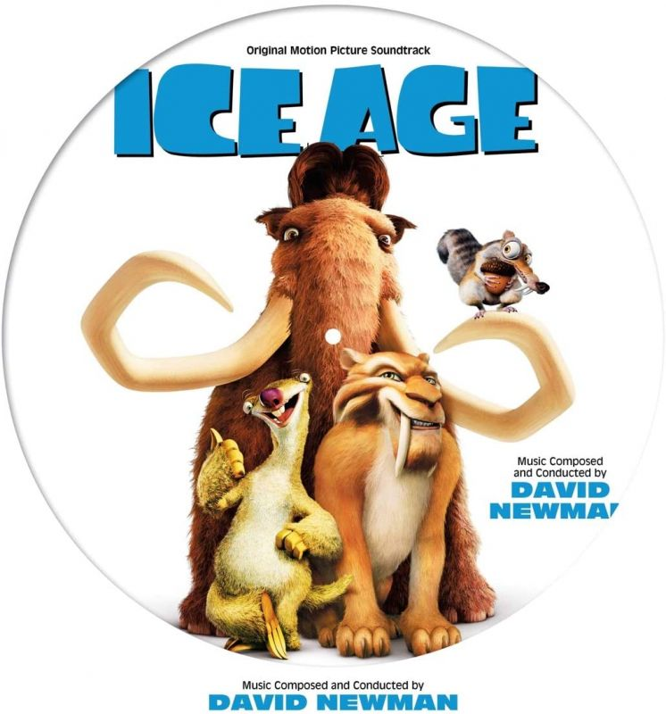 DAVID NEWMAN - ICE AGE OST - PICTURE DISC VINYL