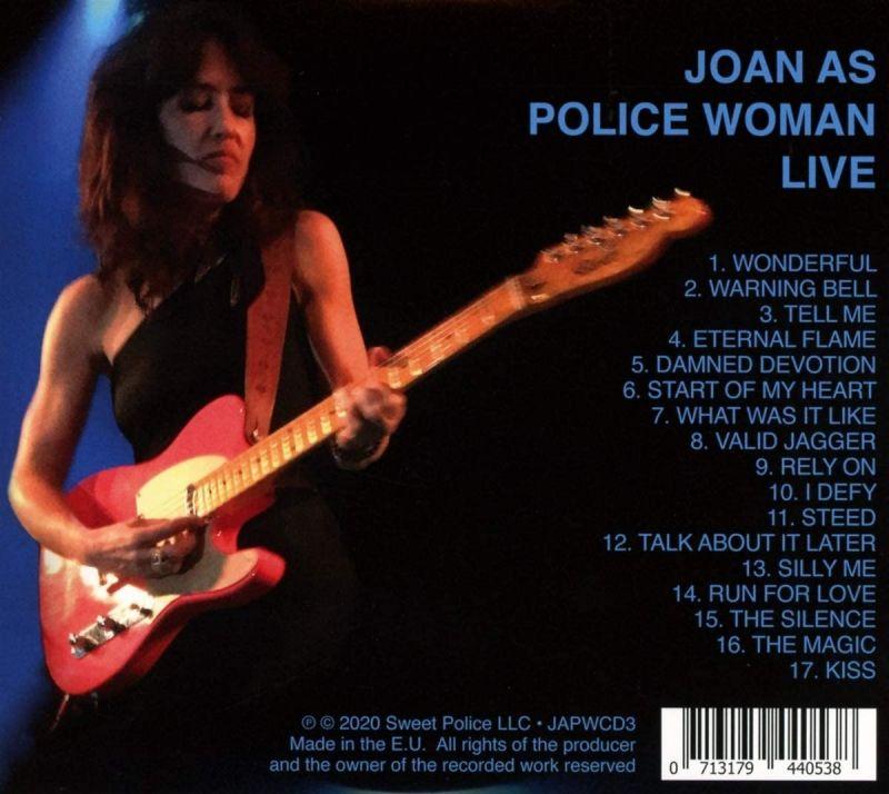 JOAN AS POLICE WOMAN - LIVE - CD