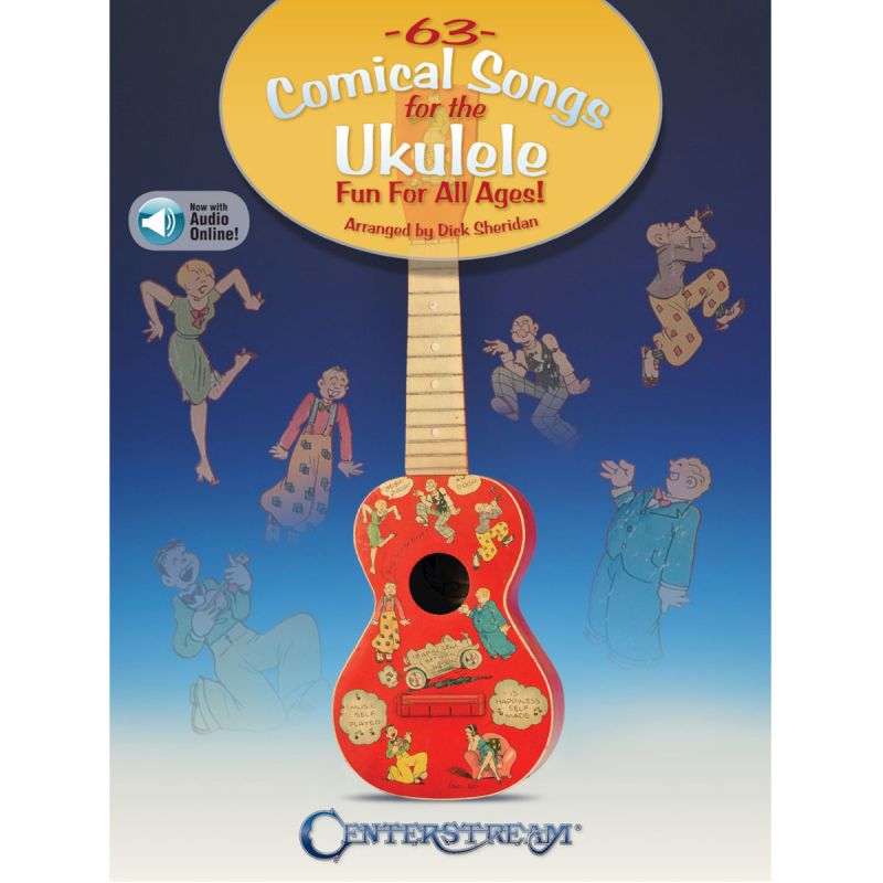 63 Comical Songs for the Ukulele (Book + Online Audio)