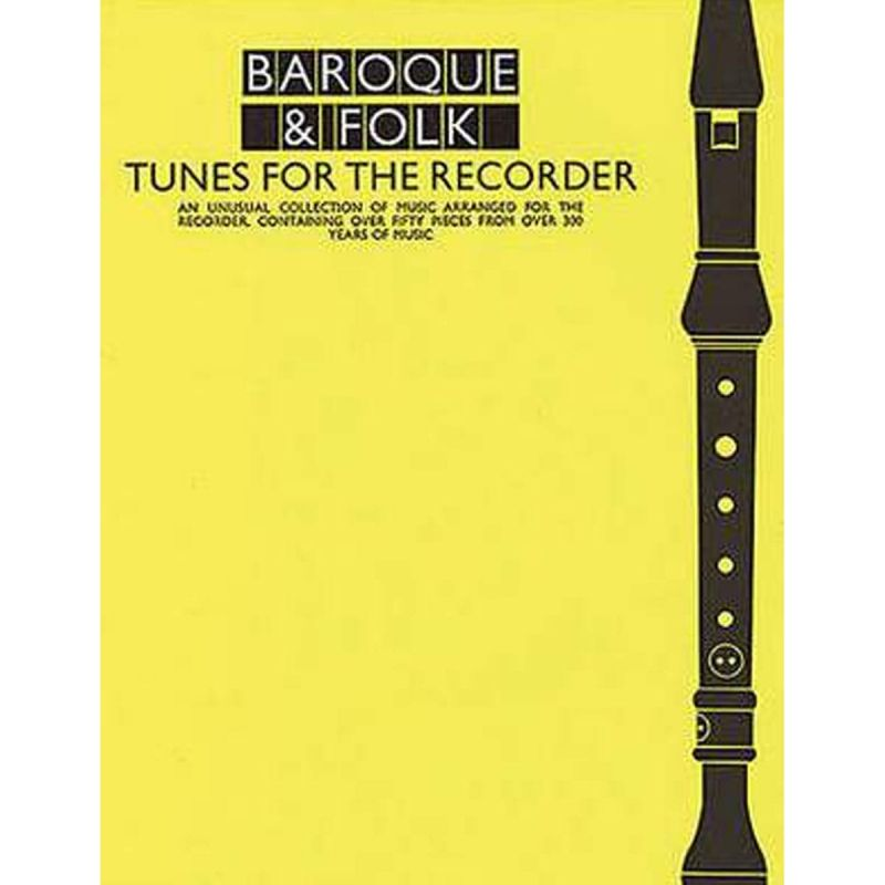 Various - Baroque And Folk Tunes For the Recorder
