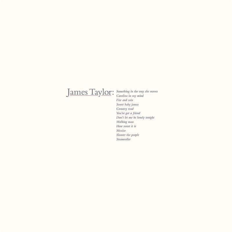JAMES TAYLOR - JAMES TAYLOR'S GREATEST HITS - VINYL