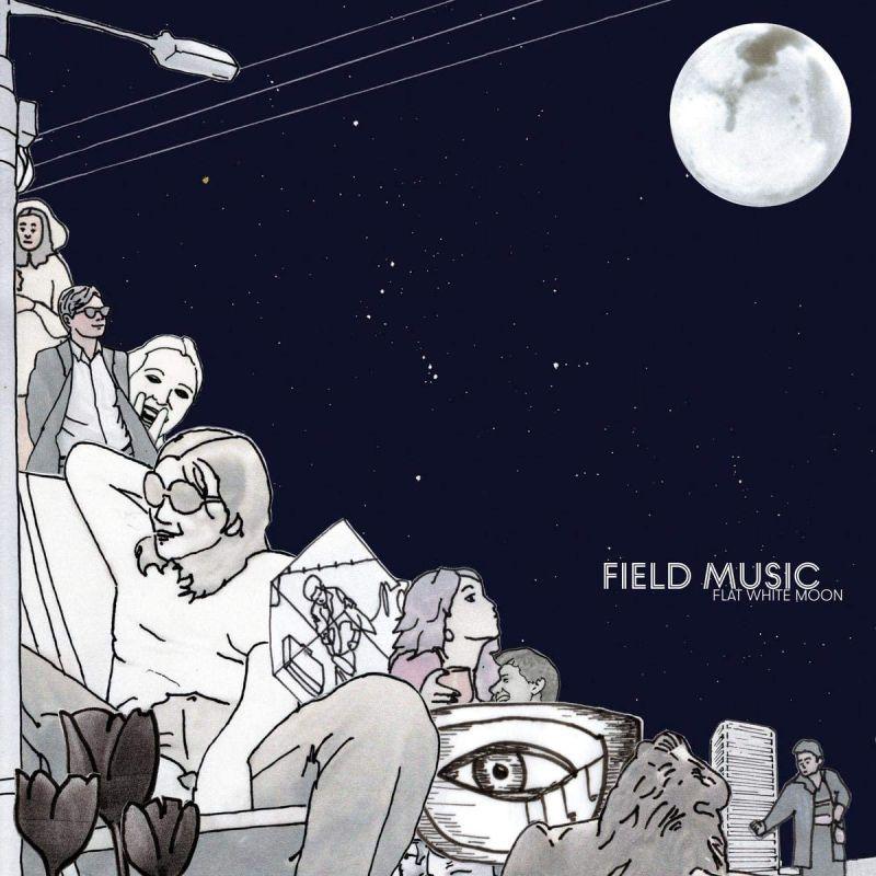 FIELD MUSIC - FLAT WHITE MOON - INDIE EXCLUSIVE TRANSPARENT VINYL