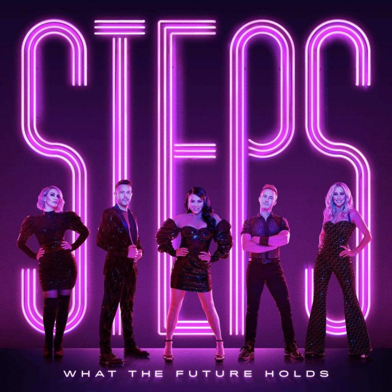 STEPS - WHAT THE FUTURE HOLDS - VINYL