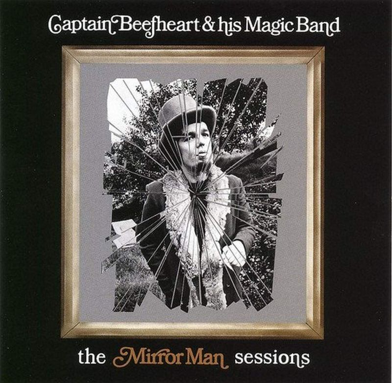CAPTAIN BEEFHEART AND HIS MAGIC BAND - MIRROR MAN SESSIONS - CLEAR 2LP VINYL