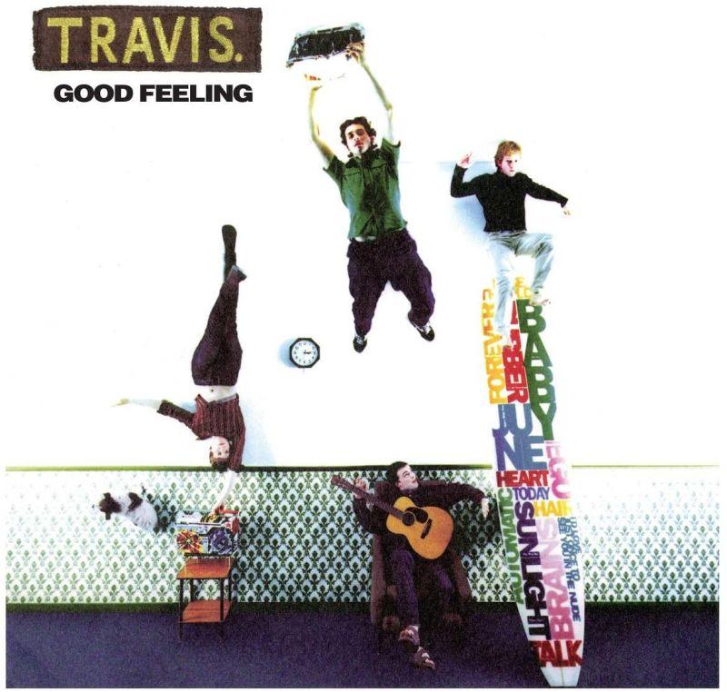 TRAVIS - GOOD FEELING - INDIE EX RED VINYL