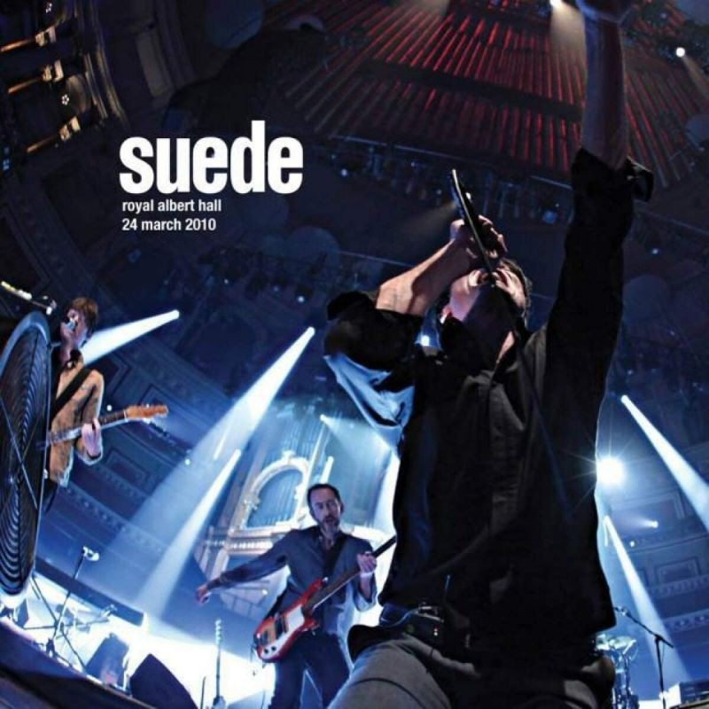 SUEDE - ROYAL ALBERT HALL - 24 MARCH 2010 - 2LP CLEAR VINYL