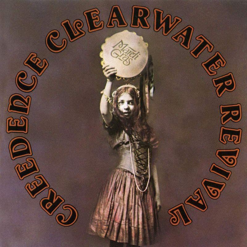 CREEDENCE CLEARWATER REVIVAL - MARDI GRAS - VINYL