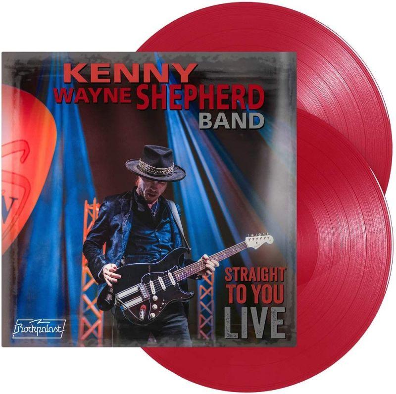 KENNY WAYNE SHEPHERD BAND - STRAIGHT TO YOU - LIVE - 2LP RED VINYL