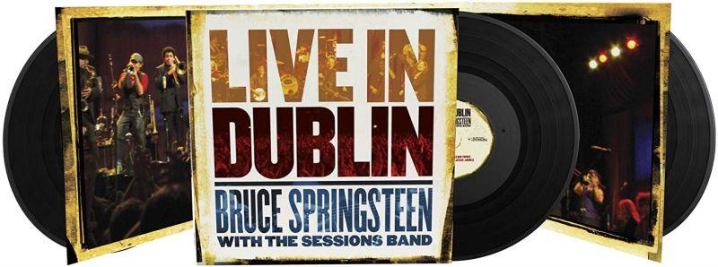 BRUCE SPRINGSTEEN - LIVE IN DUBLIN - 3LP