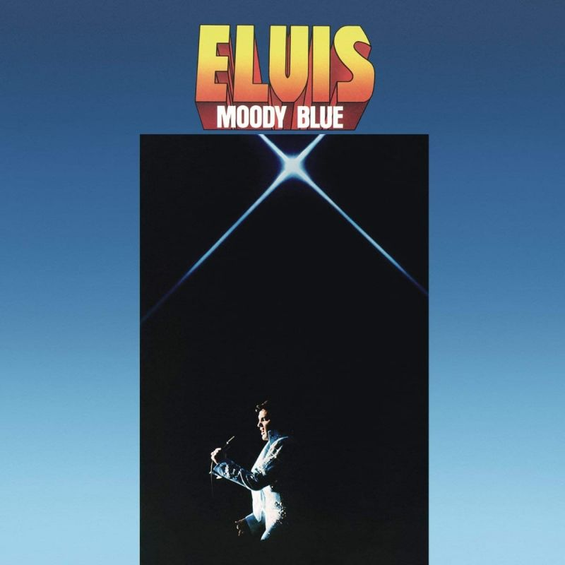 ELVIS PRESLEY - MOODY BLUE - CLEAR BLUE VINYL