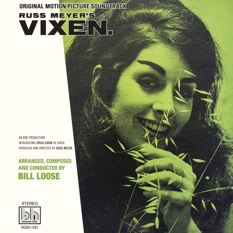 BILL LOOSE - RUSS MEYER'S VIXEN OST - NEON GREEN VINYL