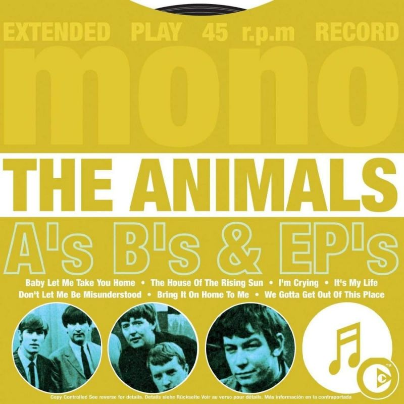 ANIMALS - A'S B'S AND EP'S - CD