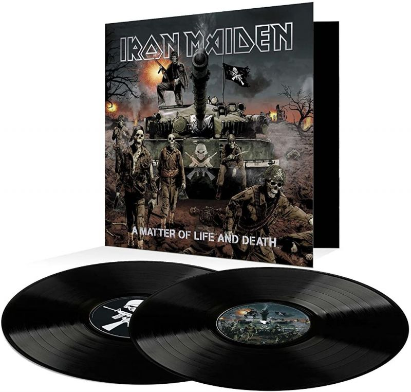 IRON MAIDEN - A MATTER OF LIFE AND DEATH - VINYL