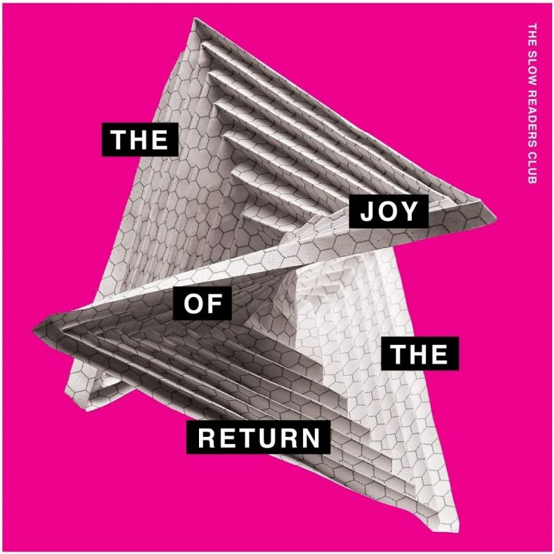 SLOW READERS CLUB - THE JOY OF THE RETURN - MAGENTA COLOURED VINYL LP
