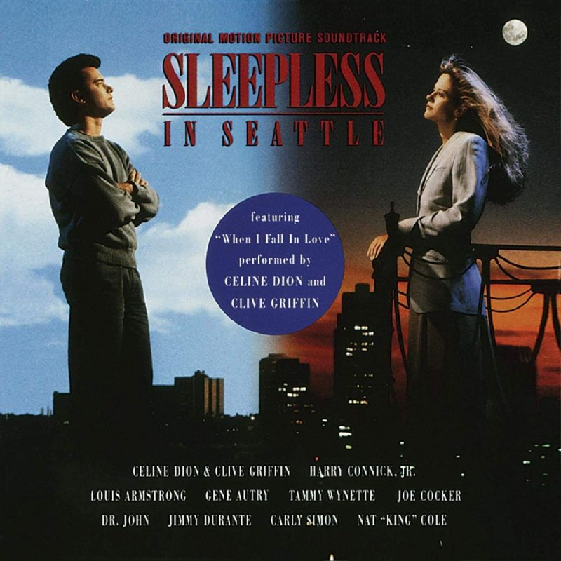 VARIOUS ARTISTS - SLEEPLESS IN SEATTLE OST - RED VALENTINE VINYL