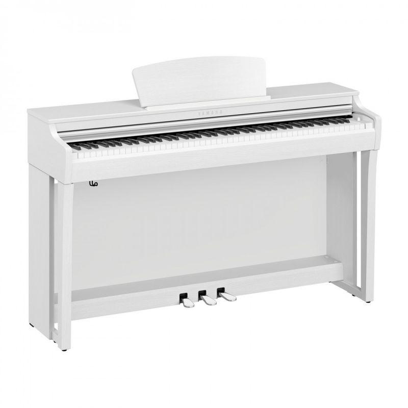 Yamaha CLP725WH Digital Piano in Satin White