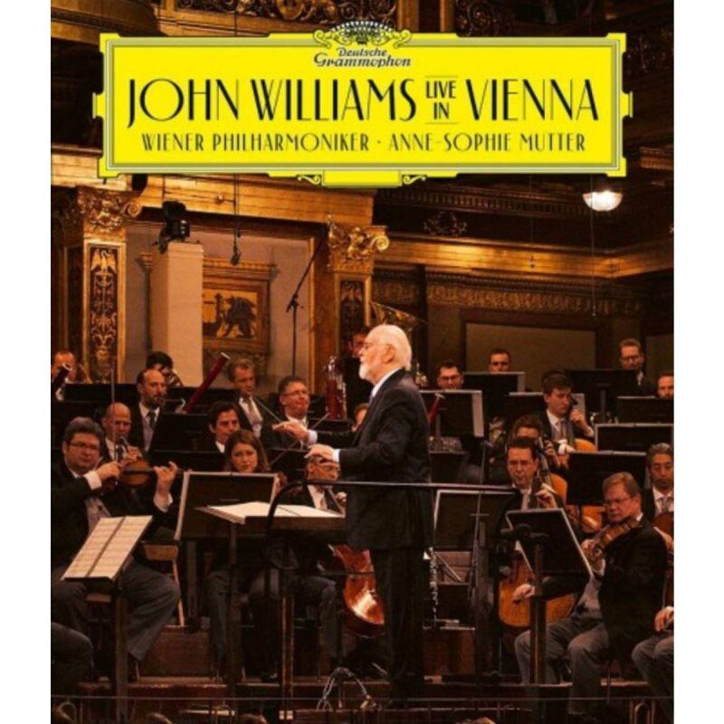 ANNE-SOPHIE MUTTER - JOHN WILLIAMS - LIVE IN VIENNA - BLU RAY
