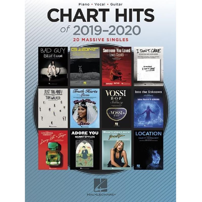 Chart Hits of 2019-2020 (Piano, Vocal and Guitar)