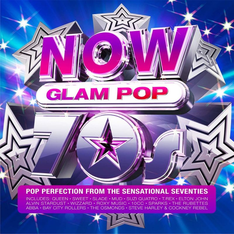 VARIOUS ARTISTS - NOW 70S GLAM POP - 4CD