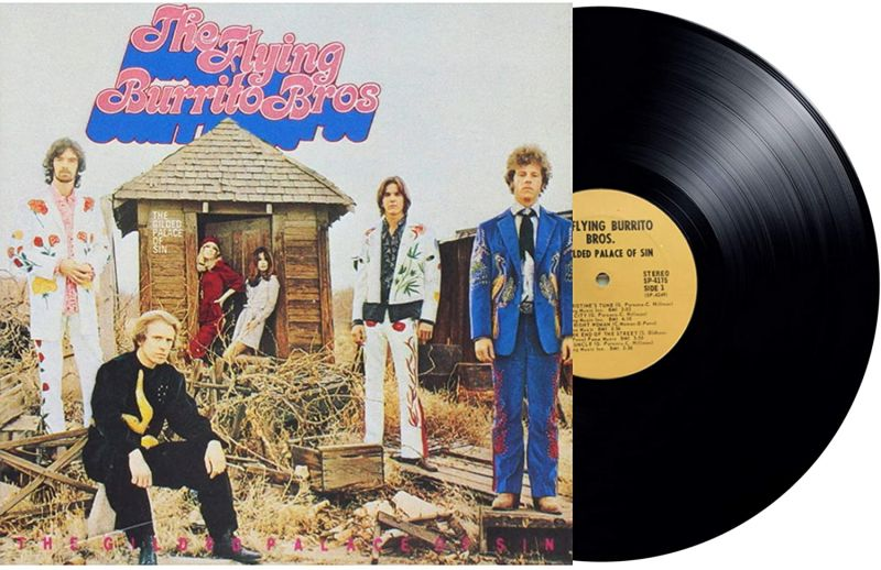 FLYING BURRITO BROTHERS - THE GILDED PALACE OF SIN - VINYL