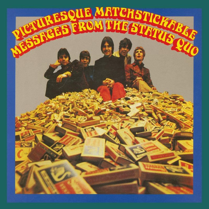 STATUS QUO - PICTURESQUE MATCHSTICKABLE MESSAGES FROM THE STATUS QUO - VINYL