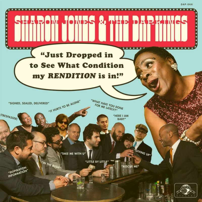 SHARON JONES & THE DAP-KINGS - JUST DROPPED IN (TO SEE WHAT