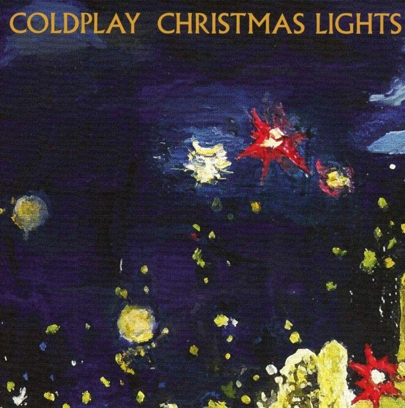 COLDPLAY - CHRISTMAS LIGHTS - 7' SINGLE COLOUR VINYL