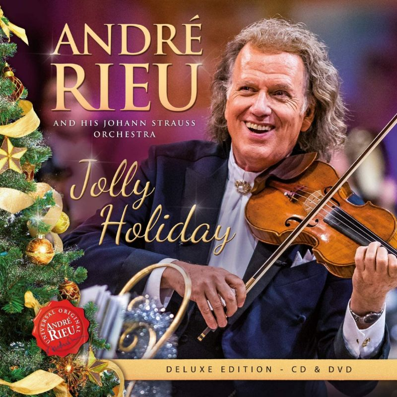 ANDRE RIEU AND JOHANN STRAUSS ORCHESTRA - JOLLY HOLIDAY - CD + DVD