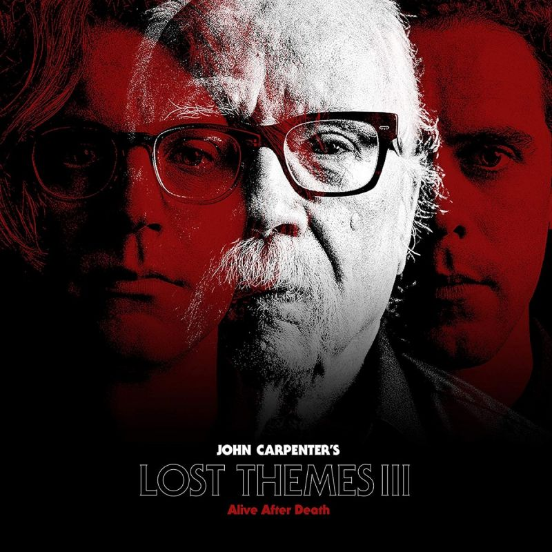 JOHN CARPENTER - LOST THEMES III - RED VINYL