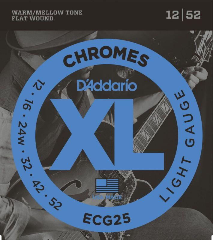 D'Addario XL Chromes Light