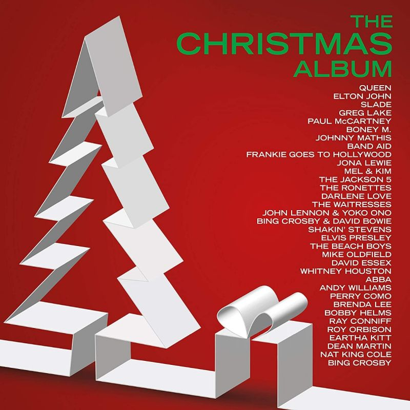 VARIOUS ARTISTS - THE CHRISTMAS ALBUM - 2LP VINYL